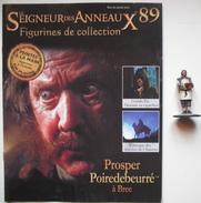Figurine Le Seigneur Des Anneaux N°89 / Prosper Poiredebeurré à Bree - Lord Of The Rings