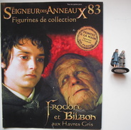 Figurine Le Seigneur Des Anneaux N°83 / Frodon Et Bilbon Aux Havres Gris - Herr Der Ringe