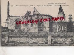 80 - RETHONVILLERS- L' EGLISE EN RUINES - France