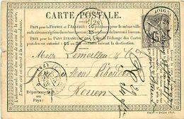 Cpa Précurseur JOIGNY 89 à Rouen, 1877 - Joigny