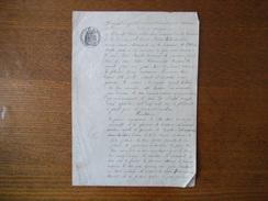 18 NOVEMBRE 1900 COMMUNE DU LUOT LOCATION PAR LOUIS BRIAULT CULTIVATEUR A VICTOR LETHIMONNIER TERRE ET FERME A LA FOLINI - Manuscrits