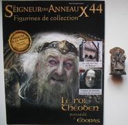 Figurine Le Seigneur Des Anneaux N°44 / LE ROI Théoden Possédé à édoras - Herr Der Ringe
