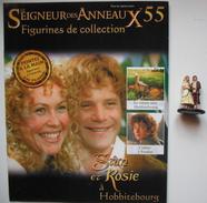 Figurine Le Seigneur Des Anneaux N°55 / Sam Et Rosie à Hobbitebourg - Lord Of The Rings