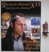 Figurine Le Seigneur Des Anneaux N°15 / Elrond Au Conseil à Fondcombe - Lord Of The Rings