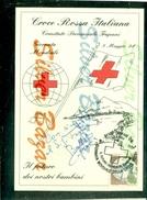 CROCE ROSSA -TRAPANI-GIORNATA MONDIALE DELLA CROCE ROSSA-ANNULLO SPECIALE-MARCOFILIA-CARTOLINA CM 17,50 X 12 - Croix-Rouge