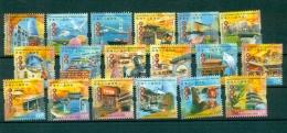HONG KONG CHINA 1262/79 Curiosités (tramways, Militariat, Architecture, ...) - 1997-... Région Administrative Chinoise