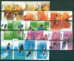 HONG KONG CHINA 1123/42 Sports - Natation, Badminton, Cyclisme, Athlétisme, Volley) - 1997-... Région Administrative Chinoise