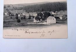 CPA SUISSE VAUD : Val De JOUX :  Le Solliat, Timbre 1904 - VD Waadt