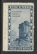 CHATEAU DE VINCENNES 1932 - Erinnophilie