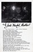 "(1356) II. WK Liederkarte "" Gute Nacht Mutter "" (C-2) - Oorlog 1939-45"