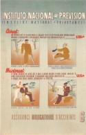 THEME ASSURANCE / Instituto Nacional De Prevision - Carte Illustrée - Postcards