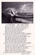 """(1362) 2. WK LIEDERKARTE """" La-Paloma-Die Weiße Taube """" (C-2) - Oorlog 1939-45"""