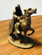 Figurine Vintage Le Seigneur Des Anneaux / Cavalier Nazgul Sur Son Cheval - Herr Der Ringe