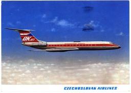 Airplane TU134A, Czechoslovakia Airliner - 1946-....: Moderne