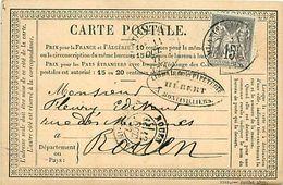 Cpa Précurseur MONTIVILLIERS 76 à Rouen, 1877, Librairie HEBERT - Montivilliers