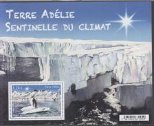 Terres Australes Et Antarctiques Françaises YV BF ? N 2017 Terre Adélie Sentinelle Du Climat - Blocs-feuillets