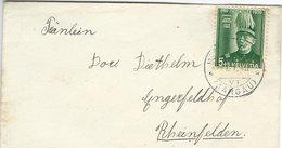 Pro Juventute.  Cover Used 1940. Switzerland.  S-1134 - Pro Juventute