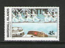 MARSHALL 1989 Invasion De La Finlande Scott N°241 NEUF MNH** - WW2