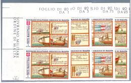 SMOM  1977 MARINERIA COPPIA MNH** - Malte (Ordre De)
