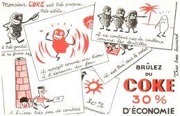 Cha Co/ Charbon Coke  (N= 1) - Buvards, Protège-cahiers Illustrés