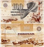 FAEROE IS.       100 Kronur       P-30       (20)11       UNC - Faroe Islands