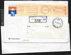 "Italia/Italie/Italy: Ema, Meter, ""GENOVA '92"", Posta Celere, Express Post, Courrier Express - Marcofilia - EMA ( Maquina De Huellas A Franquear)"