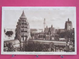75 - Paris - Exposition Coloniale Internationale 1931 - Temple D'Angkor Vat - Tour Nord-Est - Scans Recto-verso - Exhibitions
