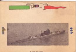 "113-Regio Sommergibile ""Pier Capponi""-Fascismo-Regia Marina-R.R.M.M. - Barche"
