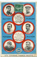 Cyclisme Velo Les Courses Franco Belges Circulee En 1910 Tres Belle Cpa - Ciclismo