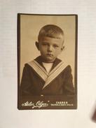 OLD CARDBOARD PHOTO  OLGA  ZAGREB - Foto