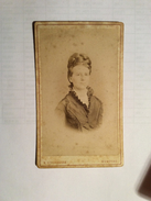 OLD CARDBOARD PHOTO  STADERNANN  KOMOTAU - Alte (vor 1900)
