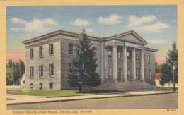 Nevada Carson City Ormsby County Court House 1960 Curteich