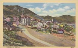 Nevada Virginia City General View Curteich