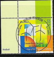 2004 Deutschland Allm. Fed. Germany Mi. 2378  FD-used Berlin EOL  Umweltschutz: Erneuerbare Energien Im Aufwind. - BRD