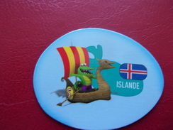 Magnet Savane Brossard Islande Crocodile Drakkar - Tourisme
