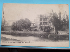 Château De M. MARQUET Merbes-le-Chateau ( Charles CAUSSIN ) Anno 19?? ( Zie Foto´s Voor Detail ) !! - Merbes-le-Château