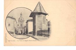 55 BAR LE DUC  Le Pont Et L église Notre Dame - Bar Le Duc