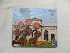 """España  Monedas Españolas Euro S/c   Emision """"  WORLD FAIR MONEY"""" 2008 - Espagne"""