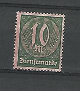 1922 - 23 N° 33 NEUF ( * )  SANS GOMME FIL B - Officials