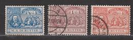 NVPH Nederland Netherlands Pays Bas Niederlande Holanda  87 88 89 Used ; Michiel De Ruyter 1907 - Gebruikt