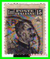 ITALI A  SELLOS AÑO 1906 VICTOR ENMMANUEL - 1900-44 Victor Emmanuel III