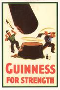 GUINNESS FOR STRENGTH - GUINNESS REPRO FROM 1937 - Advertising