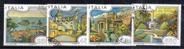 XP1780 -  REPUBBLICA 1986, Serie Usata . VILLE - 6. 1946-.. Repubblica