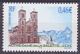 Timbre Neuf ** N° 3506(Yvert) France 2002 - Notre-Dame De La Salette - Neufs