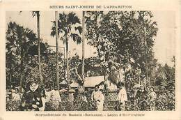 A-17-1245 : BIRMANIE  BASSEIN LECON D HORTICULTURE - Myanmar (Burma)