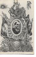 S .M .   Albert   1er  Roi  Des  Belges   -     Honneur  Et  Gloire  Aux  Vainqueurs     1914 - Royal Families