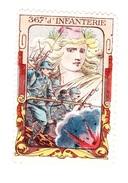 Vignette Militaire Delandre - 367ème Régiment D'infanterie - Vignettes Militaires