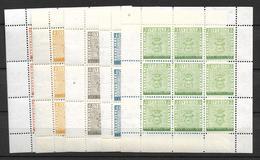 1955 MNH  Sweden, Kleinbogen, Postfris