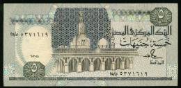 EGYPT 5 EGP 1991 P-59 SIG/SALAH HAMED #18 AU-UNC HIGH CRISP */* - Egypt