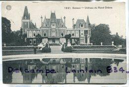 - 1321 -  Esneux - Château Du Rond Chêne, La Pièce D'eau, Cliché Peu Courant, écrite, 1910, épaisse, TTB, Scans. - Esneux